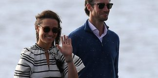 Kate Middletons sister Pippa has enjoyed a sunny day exploring Sydney on land sea and in the air with her new husband James Matthews. Photo C GETTY IMAGES
