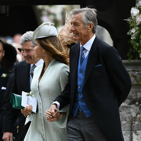 Kate drew St Marks church on the order of service at Pippas wedding Photo C GETTY IMAGES