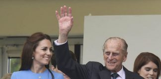 Kate has long been an admirer of the Duke of Edinburgh Photo C GETTY IMAGES