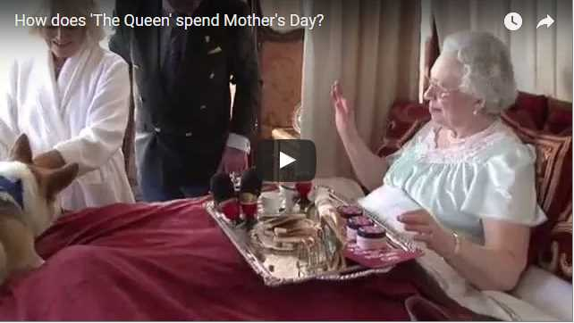 Lookalike How does The Queen spend Mothers Day