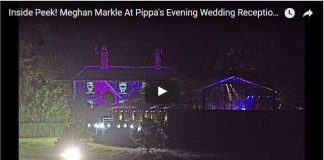 Meghan Markle At Pippas Evening Wedding Reception Party Goes On Into The Night