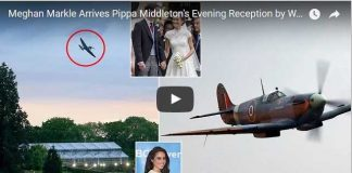 Meghan Markle Pippa Middleton Evening Reception World Ward Two Era Spitfire