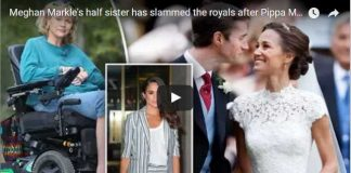 Meghan Markles half sister has slammed the royals after Pippa Middletons wedding