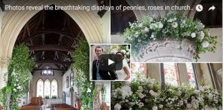 Pippa James Tied Knot Breathtaking Displays