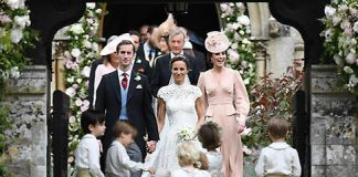 Pippa Middleton and James Matthews got married on Saturday 20 May Photo (C) GETTY IMAGES