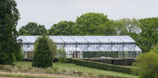 Pippa Middleton has huge glass marquee installed at parents house ahead of wedding Photo C GETTY IMAGES