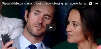 Pippa Middleton to inherit Scottish title following marriage to James Matthews