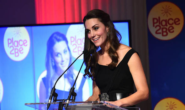 Place2Be with the Duchess of Cambridge as a Royal Patron has warned of funding cuts Photo C GETTY IMAGES