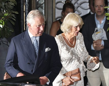 Prince Charles And Camilla Parker Bowles Dine At Scotts Restaurant In London Photo C GETTY IMAGES