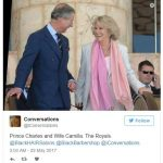 Prince Charles and Wife Camilla. The Royals.