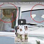 Prince George Church Seatbelt Auntie Pippa Wedding