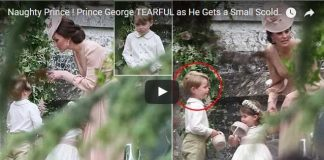 Prince George TEARFUL as He Gets a Small Scolding from Mum Kate