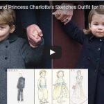Prince George and Princess Charlottes Sketches Outfit for Their Aunt Pippas Wedding 1