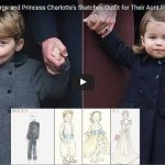 Prince George and Princess Charlottes Sketches Outfit for Their Aunt Pippas Wedding