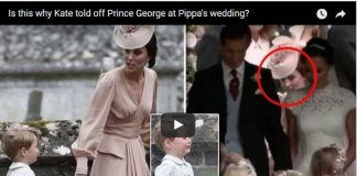 Is this why Kate told off Prince George at Pippa's wedding