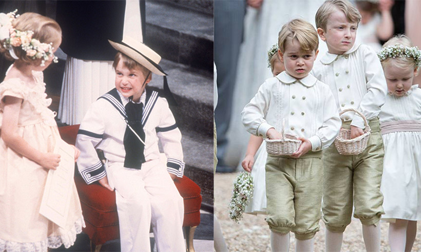 Prince William Catherine Duchess of Cambridge Prince George and Princess Charlotte Elizabeth Diana attended Pippa Middleton Wedding 0025