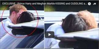 Prince Harry and Meghan Markle KISSING and CUDDLING at Polo Event