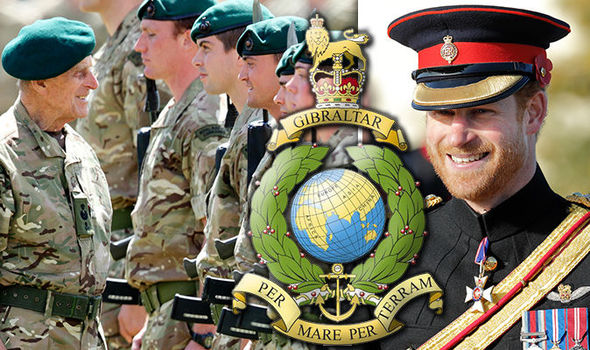 Prince Harry is set to takeover the military role from his grandfather Photo C GETTY IMAGES