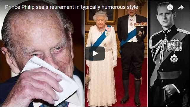 Prince Philip seals retirement in typically humorous style