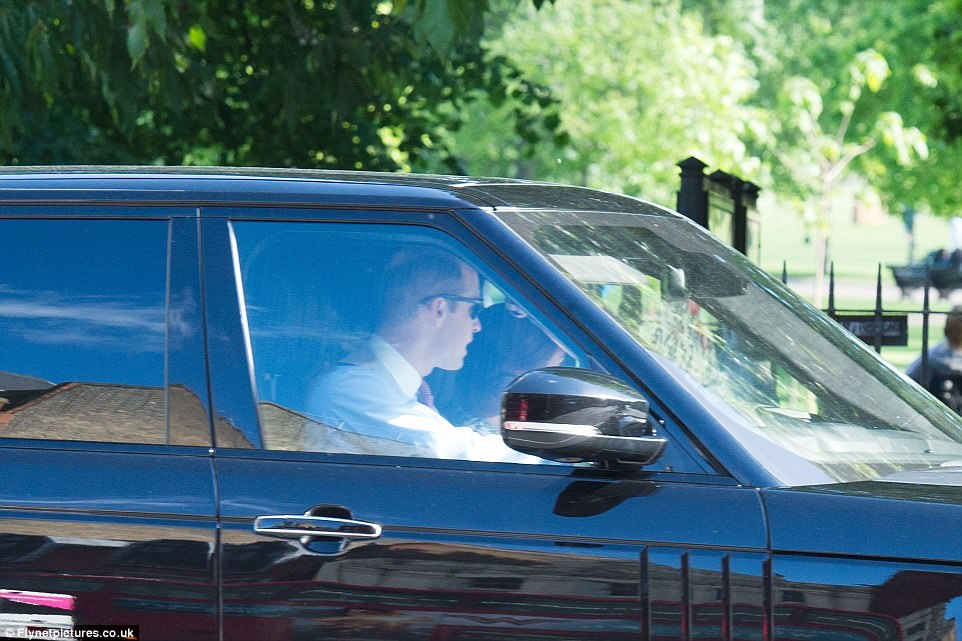 Prince William, Catherine Duchess of Cambridge, Prince George and Princess Charlotte Elizabeth Diana attended Pippa Middleton Wedding
