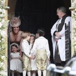 Prince William Catherine Duchess of Cambridge Prince George and Princess Charlotte Elizabeth Diana attended Pippa Middleton Wedding 0010