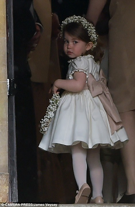 Princess Charlotte Elizabeth Diana attended Pippa Middleton Wedding