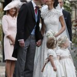Prince William Catherine Duchess of Cambridge Prince George and Princess Charlotte Elizabeth Diana attended Pippa Middleton Wedding 0020
