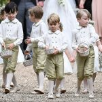 Prince William Catherine Duchess of Cambridge Prince George and Princess Charlotte Elizabeth Diana attended Pippa Middleton Wedding 0021