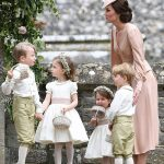 Prince William Catherine Duchess of Cambridge Prince George and Princess Charlotte Elizabeth Diana attended Pippa Middleton Wedding 0022