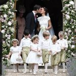 Prince William Catherine Duchess of Cambridge Prince George and Princess Charlotte Elizabeth Diana attended Pippa Middleton Wedding 0023
