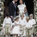 Prince William Catherine Duchess of Cambridge Prince George and Princess Charlotte Elizabeth Diana attended Pippa Middleton Wedding 0024