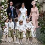 Prince William Catherine Duchess of Cambridge Prince George and Princess Charlotte Elizabeth Diana attended Pippa Middleton Wedding 0027