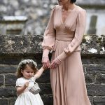 Prince William Catherine Duchess of Cambridge Prince George and Princess Charlotte Elizabeth Diana attended Pippa Middleton Wedding 0029