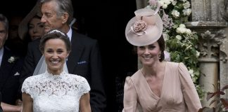Prince William Catherine Duchess of Cambridge Prince George and Princess Charlotte Elizabeth Diana attended Pippa Middleton Wedding 0039