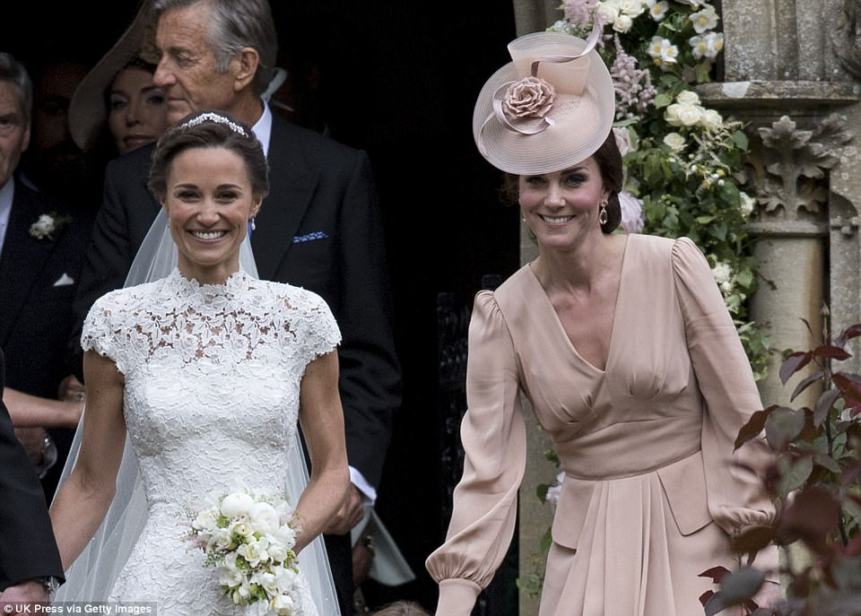 Catherine Duchess of Cambridge, Prince George and Princess Charlotte Elizabeth Diana attended Pippa Middleton Wedding