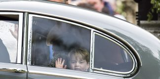 Prince William Catherine Duchess of Cambridge Prince George and Princess Charlotte Elizabeth Diana attended Pippa Middleton Wedding 0041