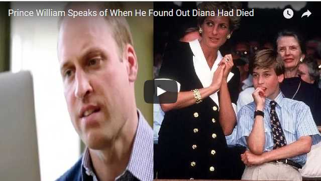 Prince William Princess Diana Speak