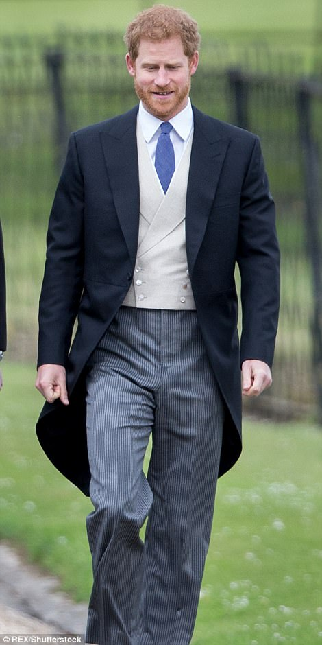 Prince William and Prince Harry walking to Church to attend Pippa Wedding
