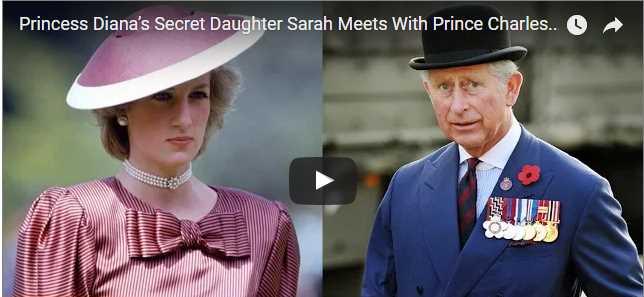 Princess Diana's Secret Daughter Sarah Meets With Prince Charles