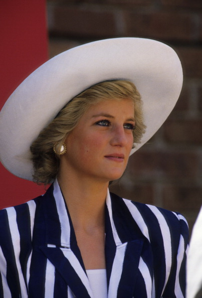 MELBOURNE, AUSTRALIA - JANUARY 27:  Princess of Wales Diana during her visit to the Footscray Park in suburb of Melbourne.  (Photo by Georges DeKeerle/Getty Images)