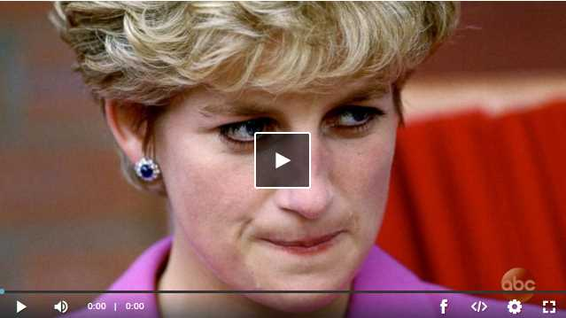 Princess Diana in love