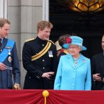 Queen Elizabeth II Prince Philip Prince William and Prince Harry Photo C GETTY IMAGES