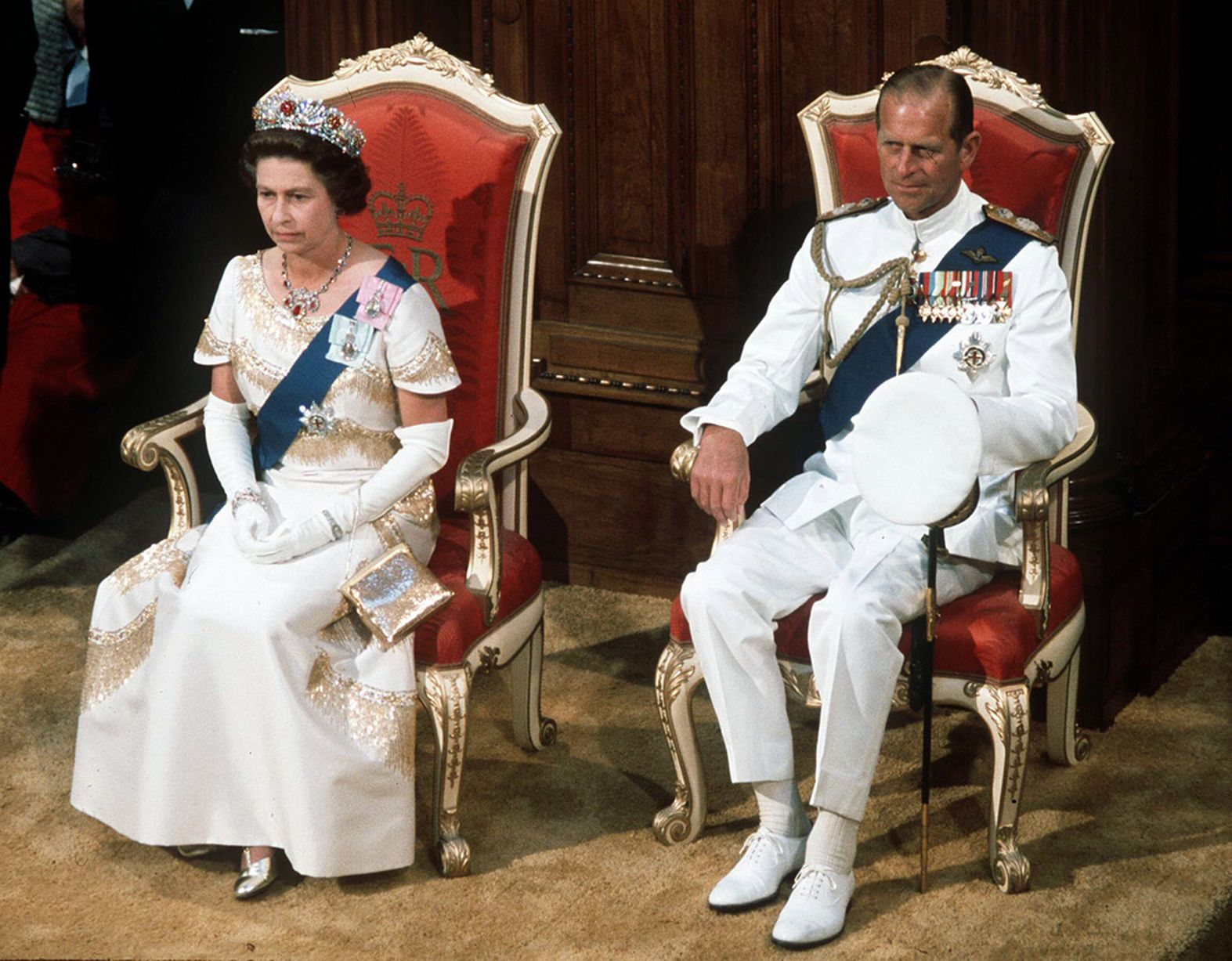 Queen Elizabeth Ii and Duke of Edinburgh Photo C GETTY IMAGES 0050
