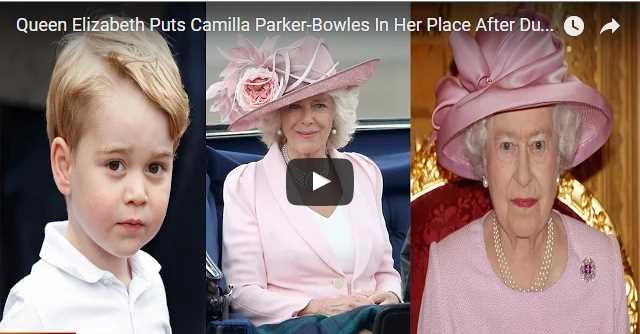 Queen Elizabeth Puts Camilla Parker Bowles In Her Place After Duchess Ruins Prince George's Christen