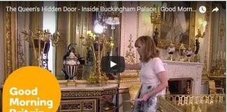 Queen Hidden Door Buckingham Palace