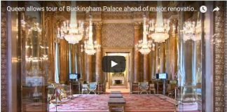 Queen allows tour of Buckingham Palace ahead of major renovation