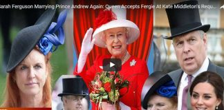 Sarah Ferguson Marrying Prince Andrew Again Queen Accepts Fergie At Kate Middleton's Request