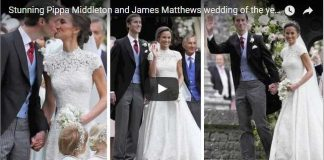 Stunning Pippa Middleton and James Matthews wedding of the year