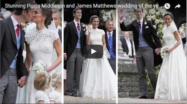 Guests arrived at Pippa Middleton Wedding 0062