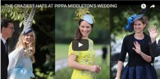 The Craziest Hats At Pippa Middleton Wedding